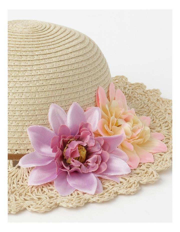 Crotchet Flower Hat image 4