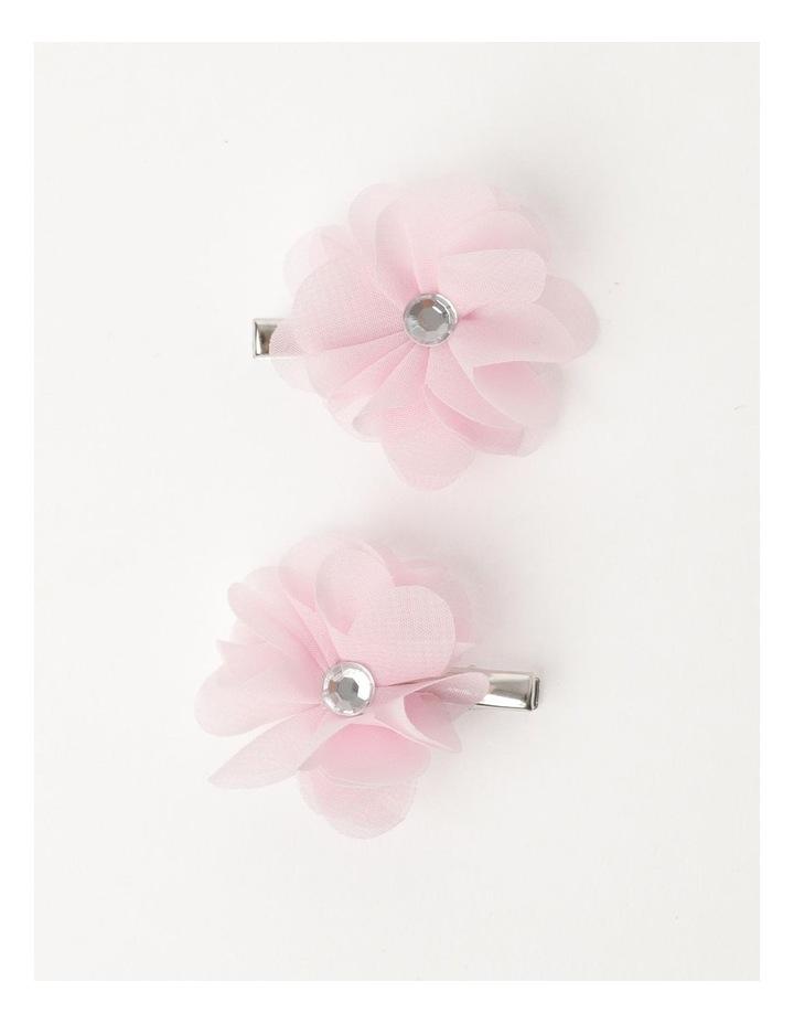 Chiffon Flower Hairclip image 1