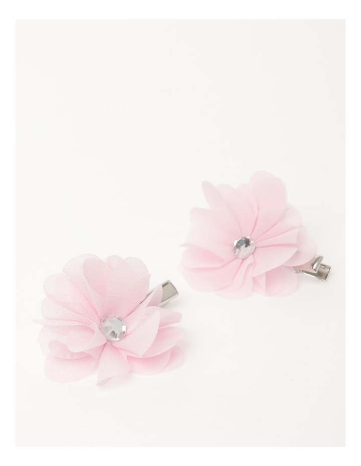 Chiffon Flower Hairclip image 2