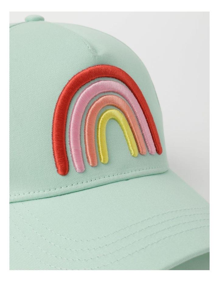 Rainbow Embroidered Cap image 4