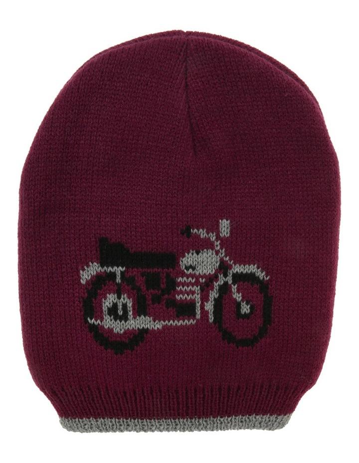 Boys Motocycle Beanie image 1