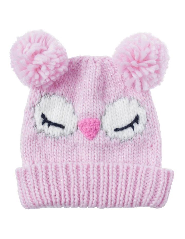 Girls Novelty Owl Beanie image 1