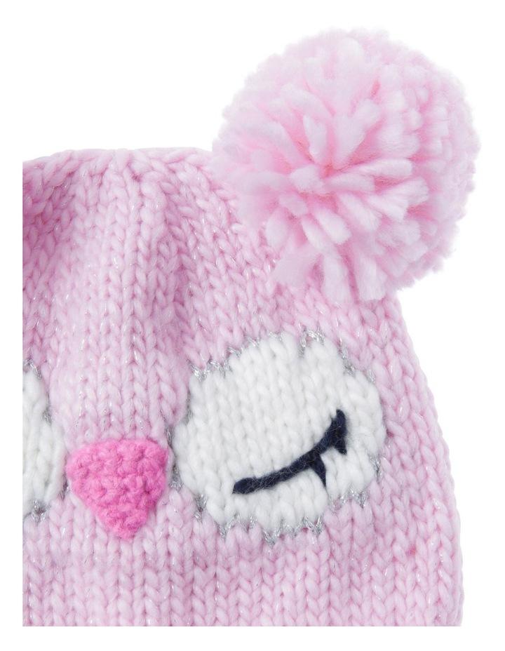 Girls Novelty Owl Beanie image 2