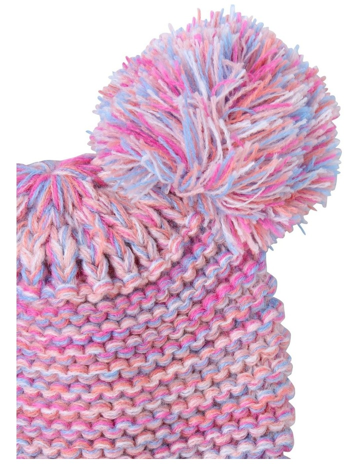 Girls Twisted Yarn Beanie image 2
