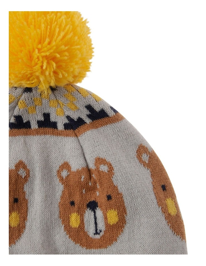 Organic Cotton Bear Beanie image 2
