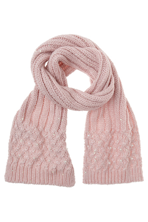 Tilii - Sequin and pearl scarf
