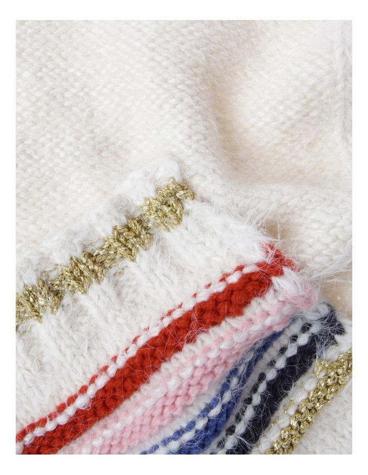 Slub Knit Scarf image 2