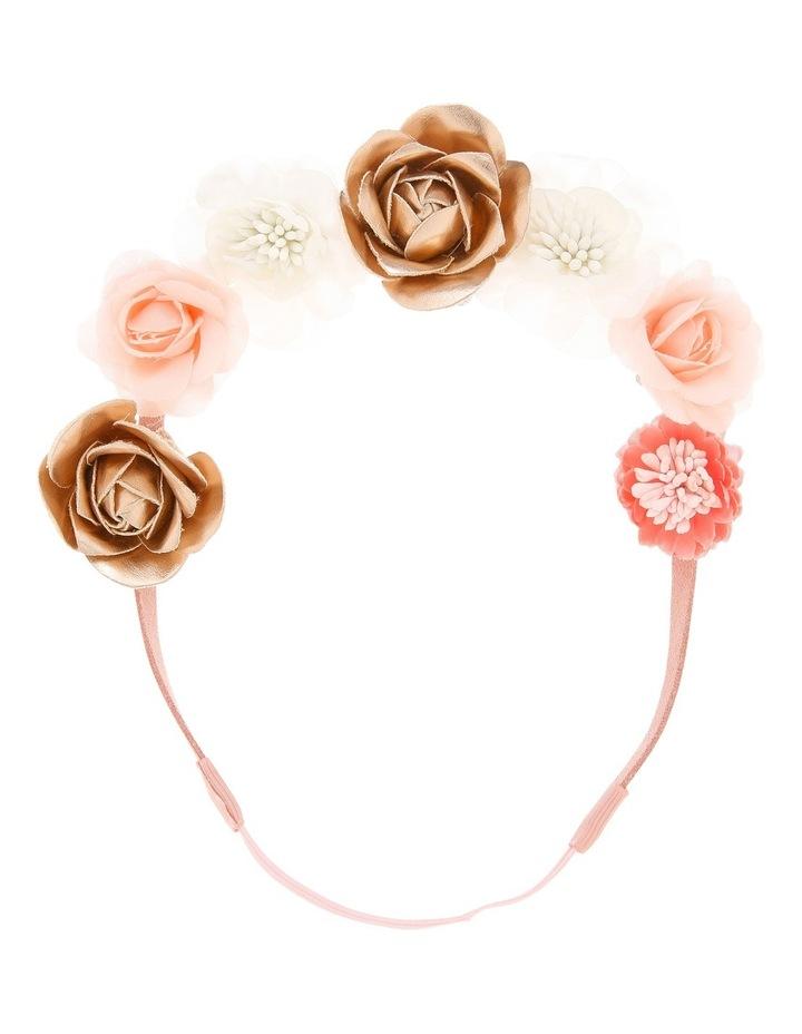 Fabric Flower Elastic Headband image 1