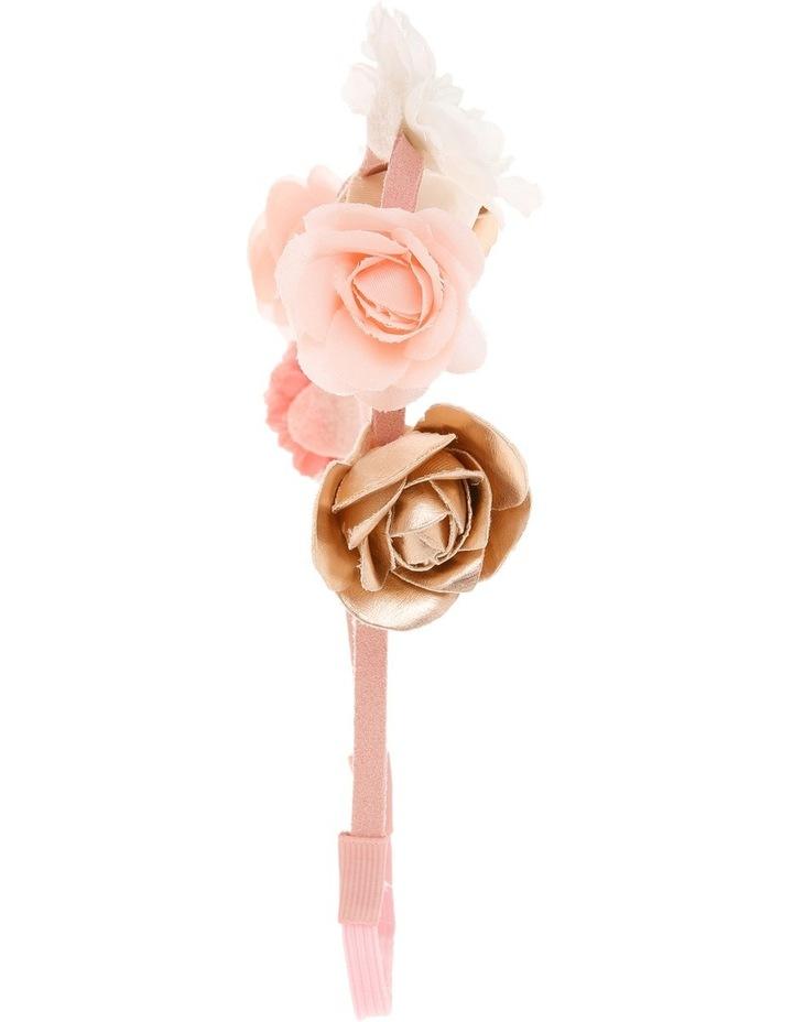 Fabric Flower Elastic Headband image 2