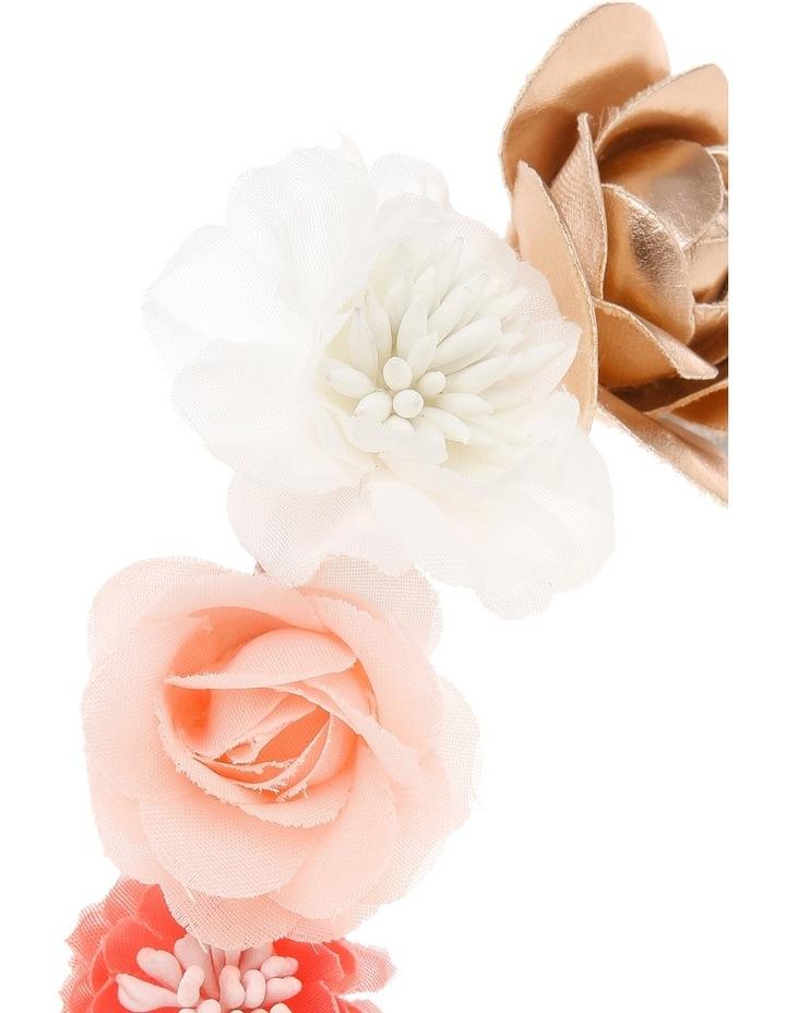 Fabric Flower Elastic Headband image 3