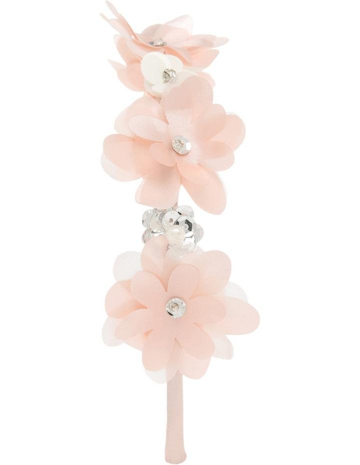 Satin Flower Headband image 2