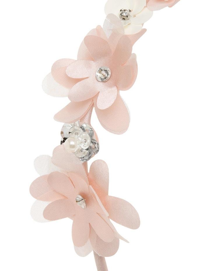 Satin Flower Headband image 3