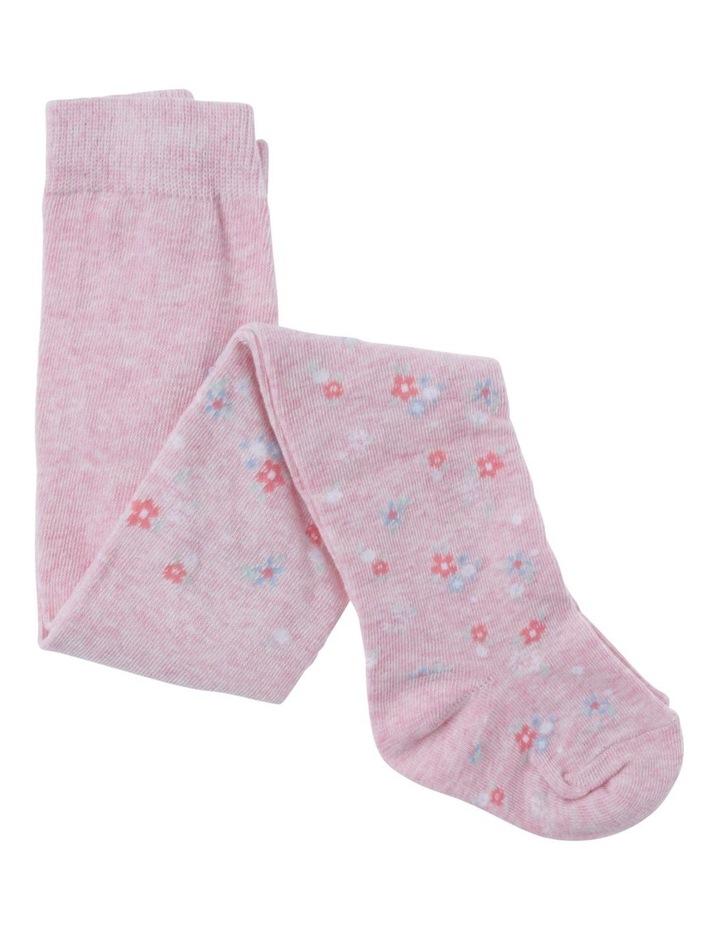 Toddler Novelty Floral Tights image 1