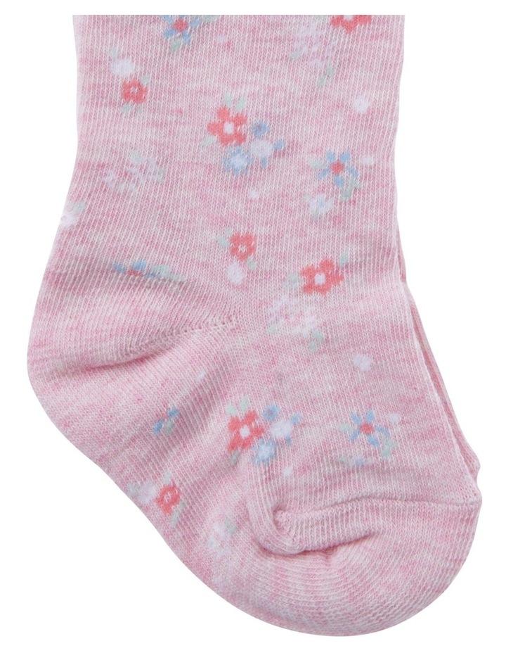 Toddler Novelty Floral Tights image 2