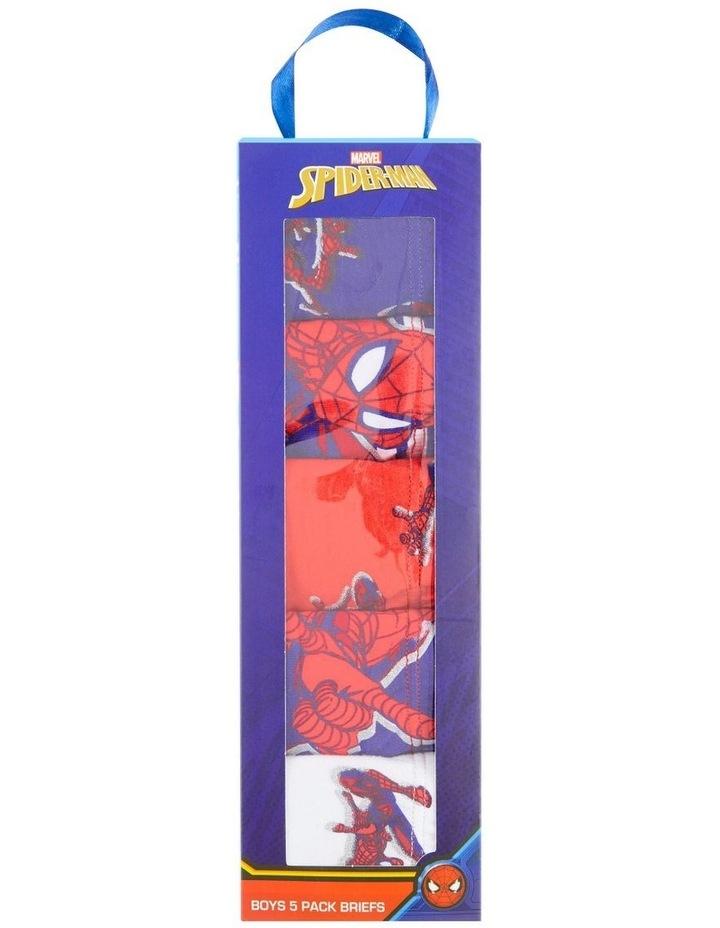 Spiderman Brief 5 Pack image 2