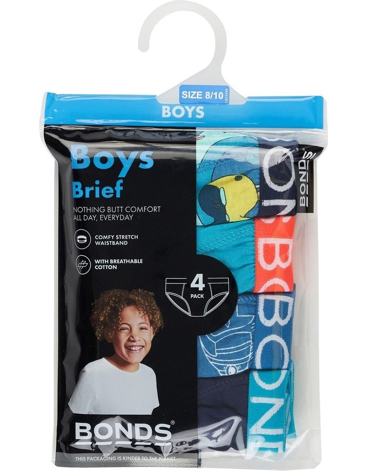 Boys Brief 4 Pack image 3