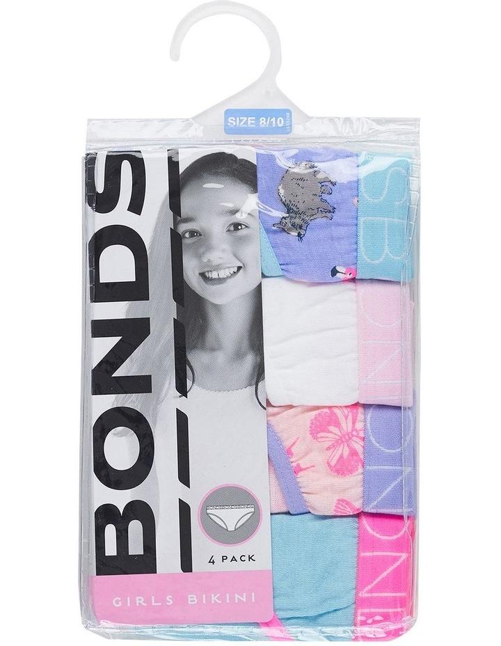 Girls Bikini Brief 4 Pack image 3