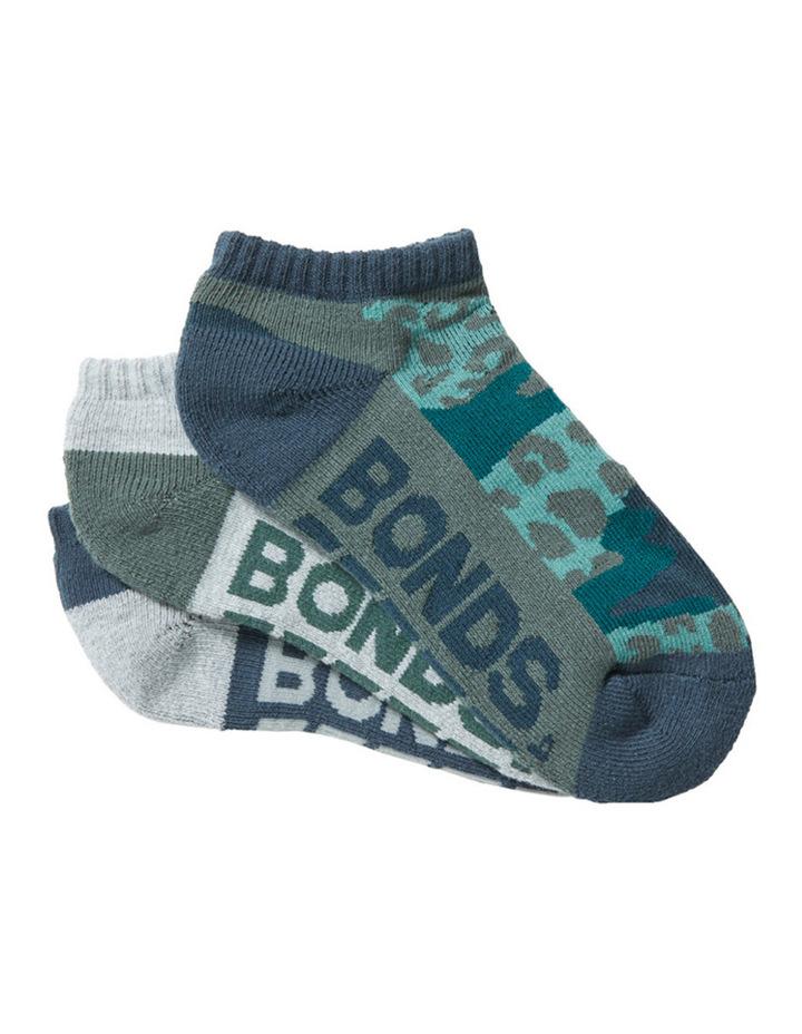 3 Pack Logo Socks image 1