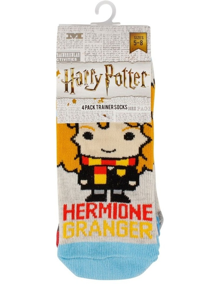 Harry Potter Character Low Cut Socks 4 Pack image 2