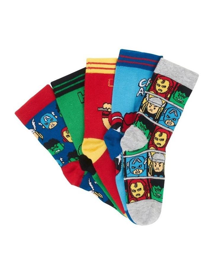 Marvel Avengers Socks 5 Pack image 1