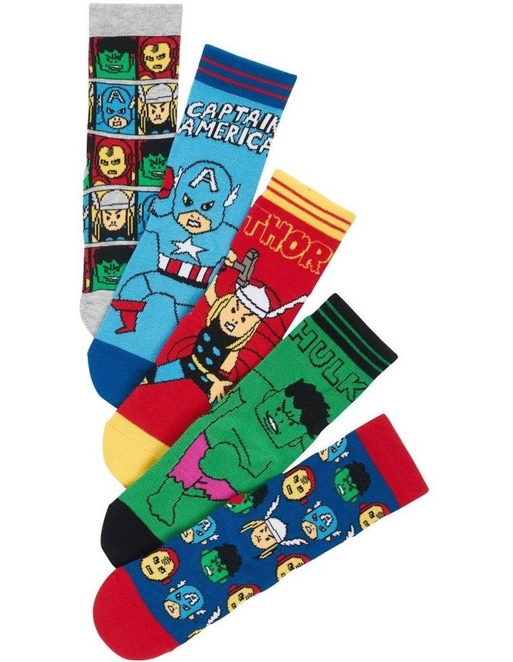 Marvel Avengers Socks 5 Pack image 2
