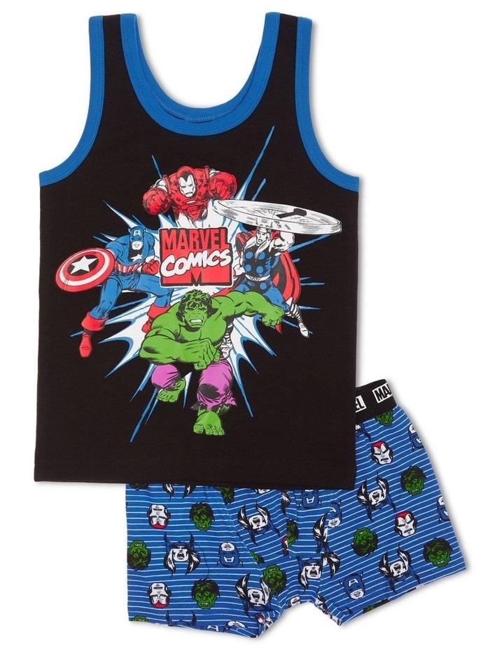 Marvel Avengers Singlet & Trunk Set image 1