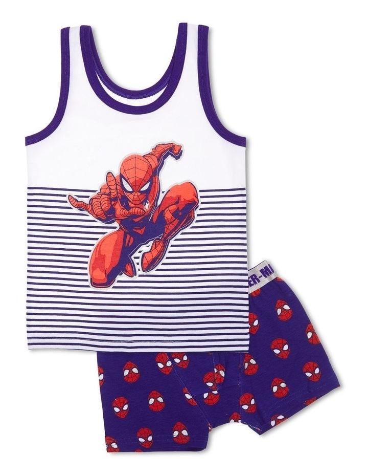 Spiderman Singlet & Trunk Set image 1