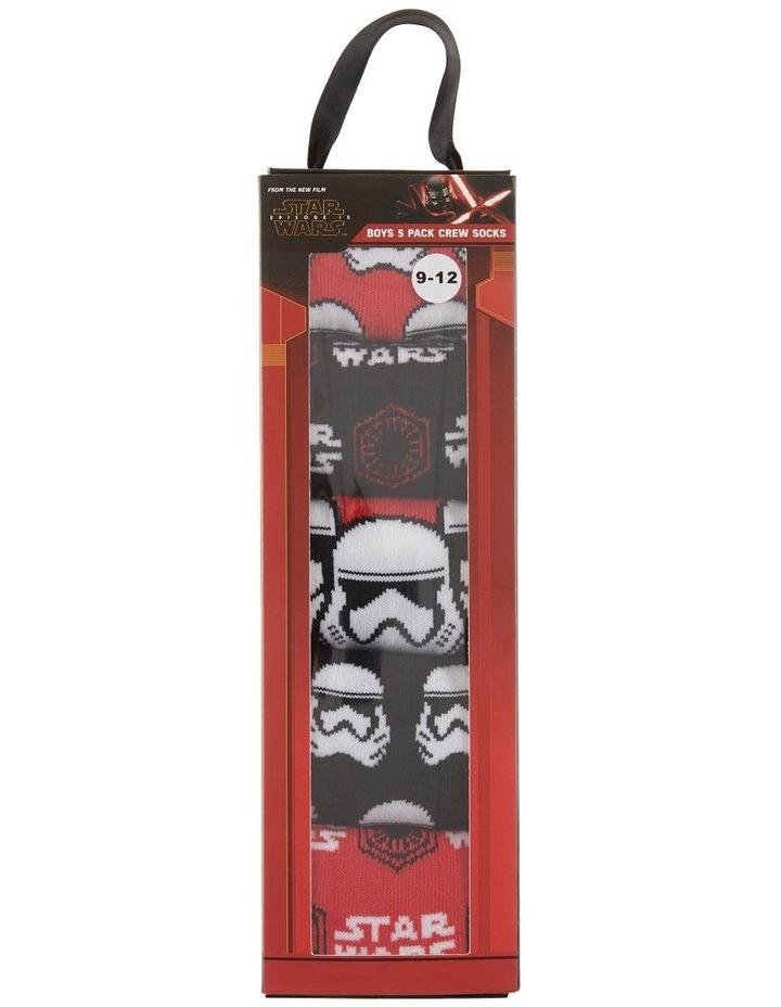 Star Wars 5pk Sock image 1