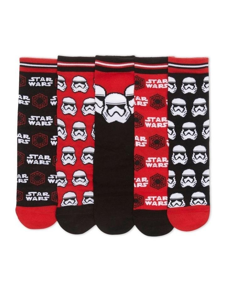 Star Wars 5pk Sock image 2