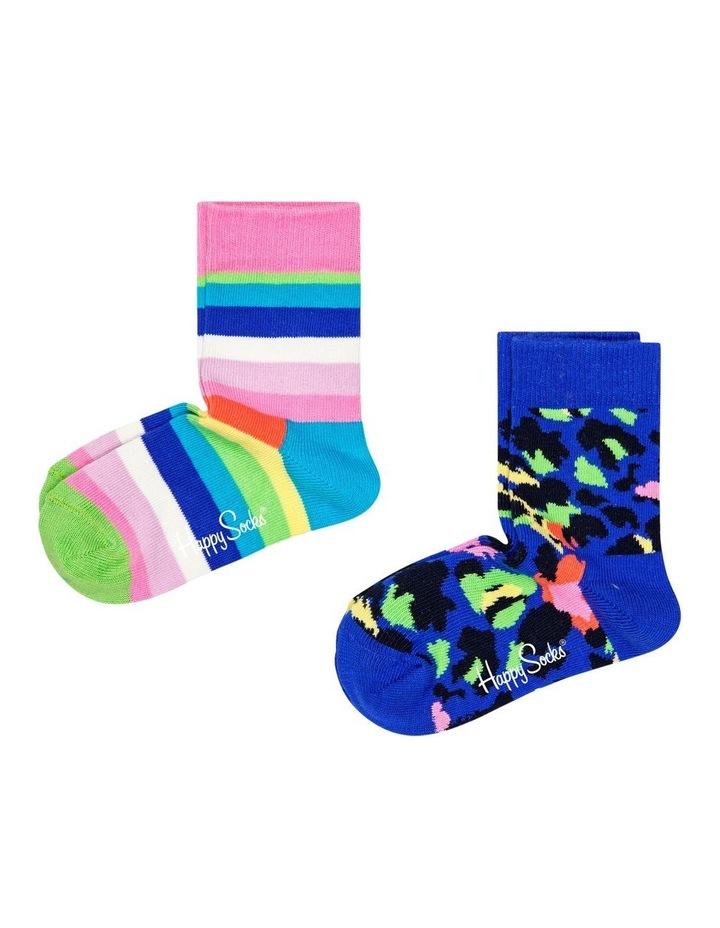 2-Pack Stripe Socks image 1
