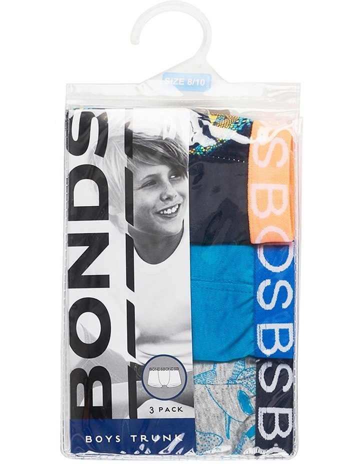BOYS TRUNK 3 PACK image 1