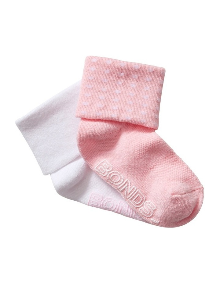 2 Pack Cuff Socks image 1