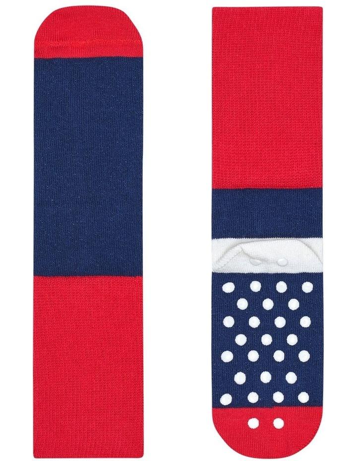 2pk Anti-Slip Dot Socks image 3