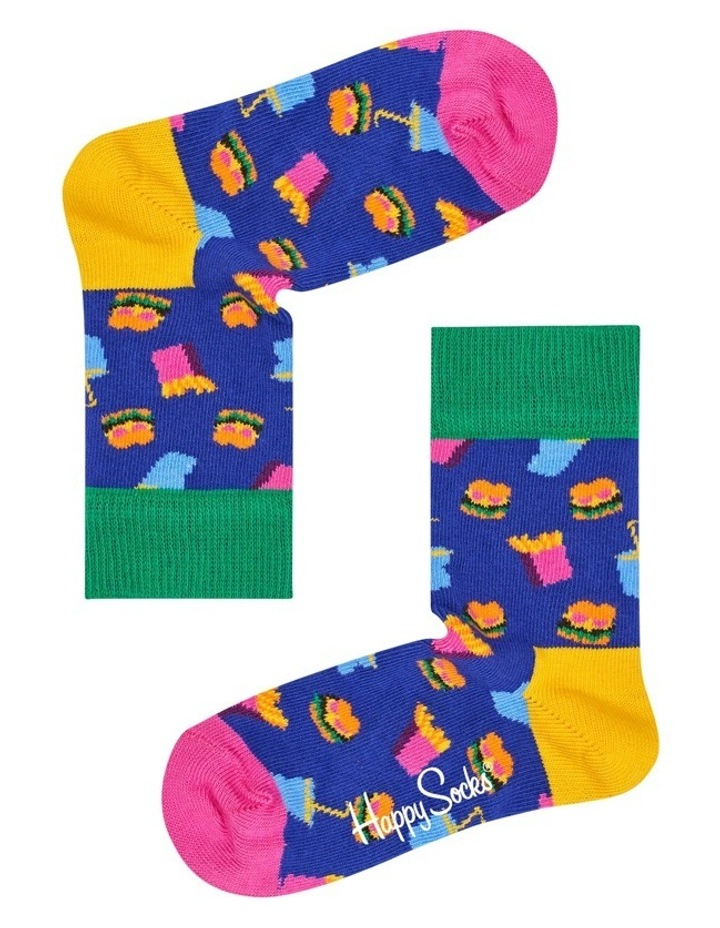 Kids Hamburger Socks image 2