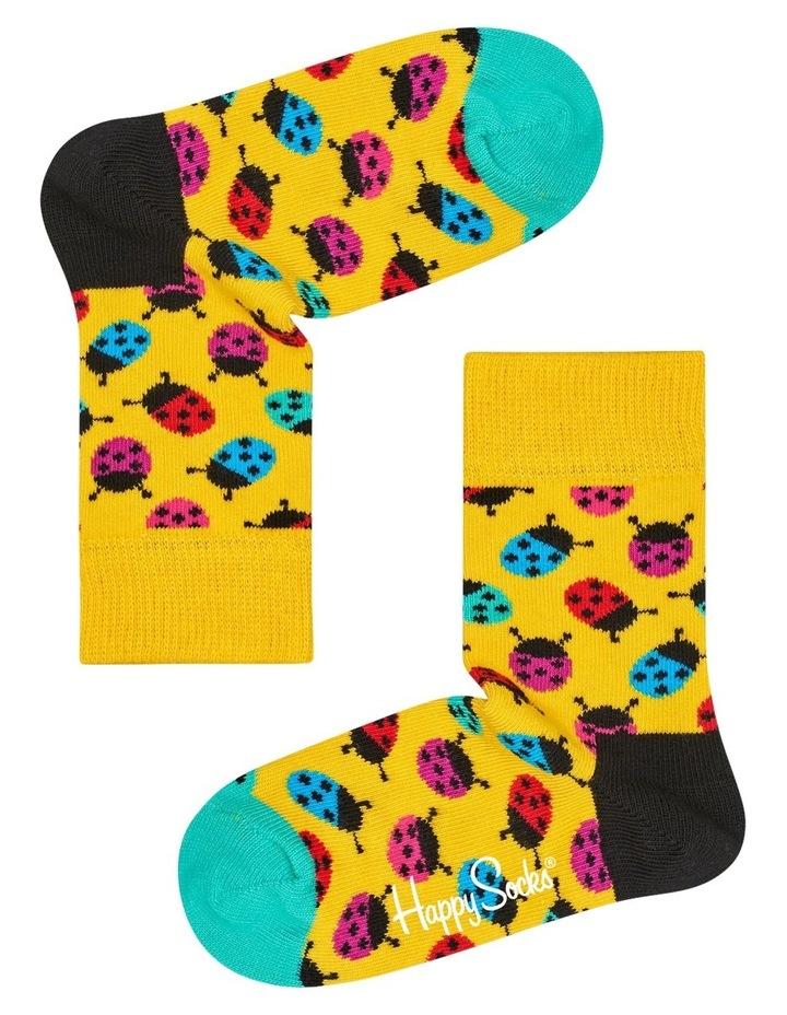 Kids Ladybug Socks image 1