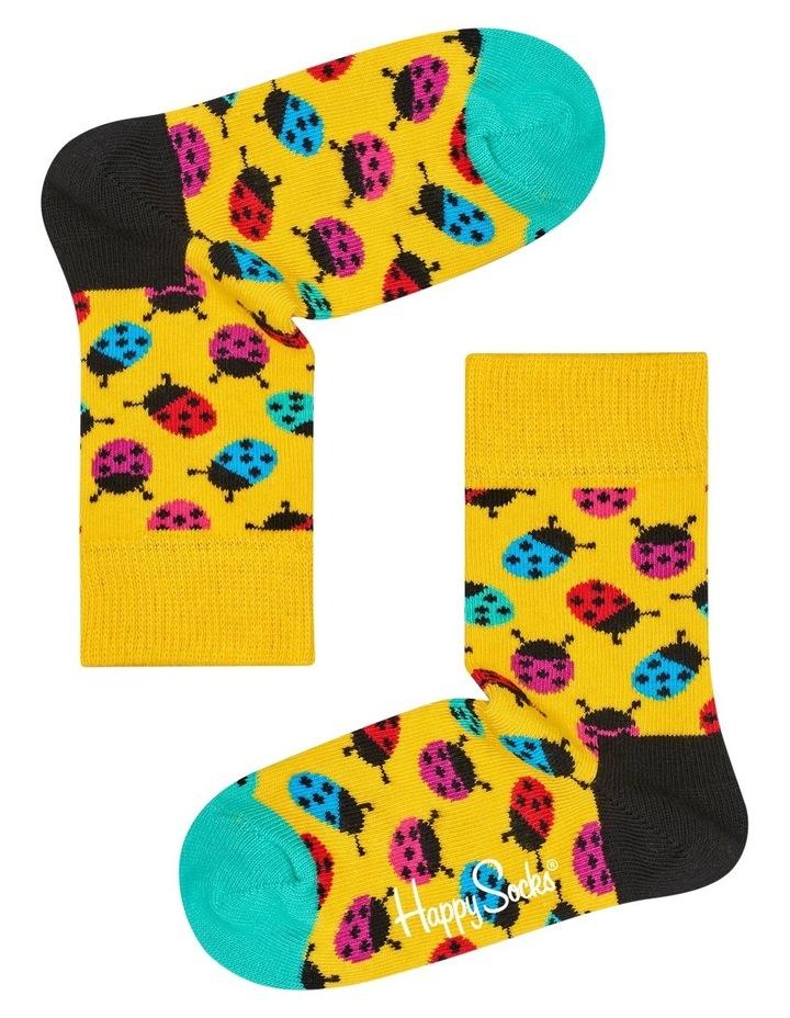 Kids Ladybug Socks image 2