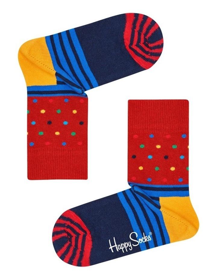 Kids Dot/Stripe Socks image 2