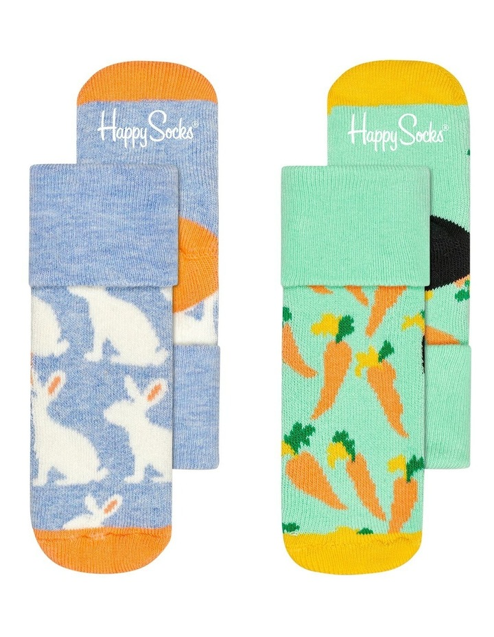 Bunny Terry Socks 2-Pack image 1