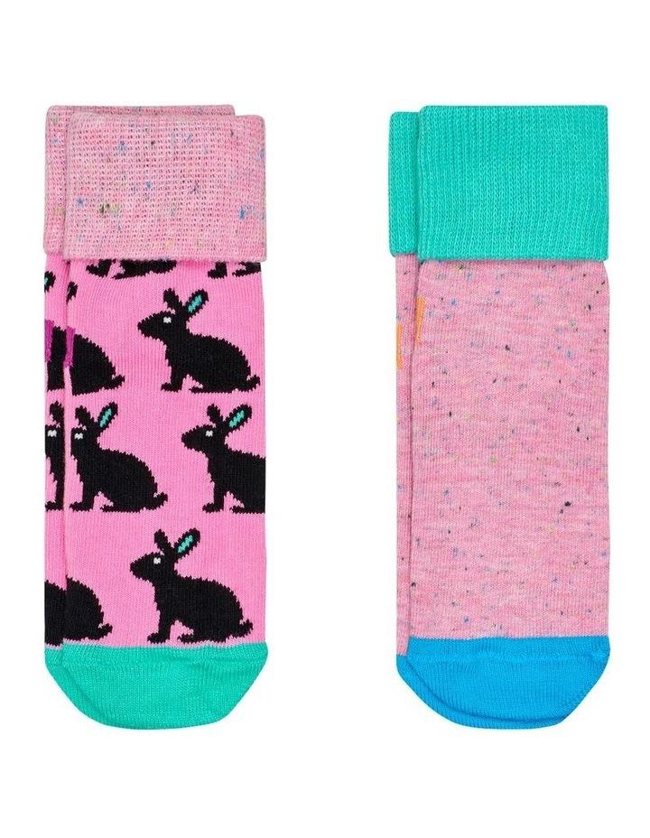 2-Pack Bunny Anti-Slip Socks image 1