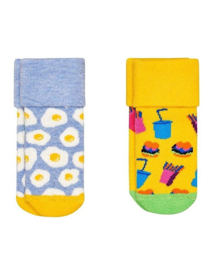 2-Pack Brunch Terry Socks image 1