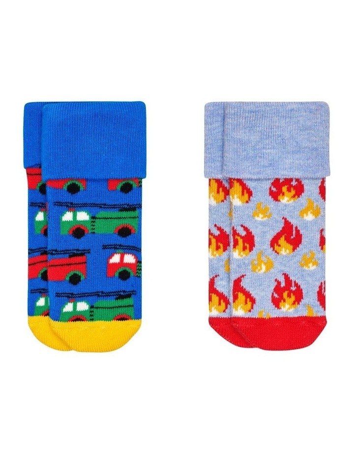 2-Pack On Fire Terry Socks image 1