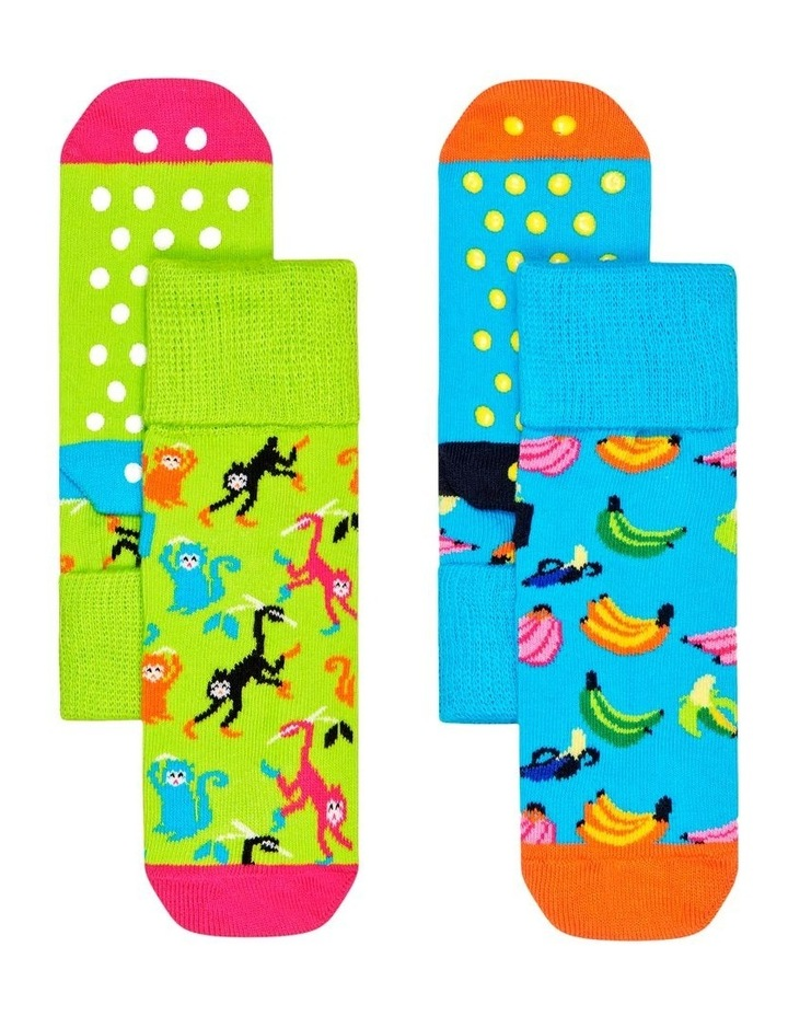 2-Pack Banana Anti-Slip Socks image 1