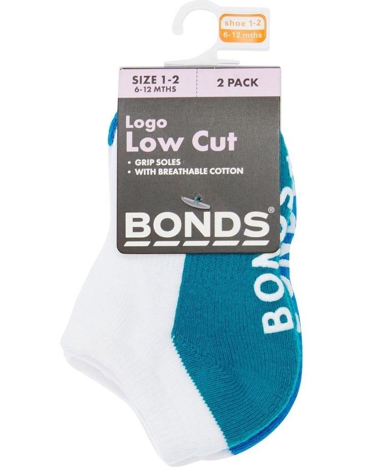 Baby Logo Low Cut 2 Pack Socks image 1