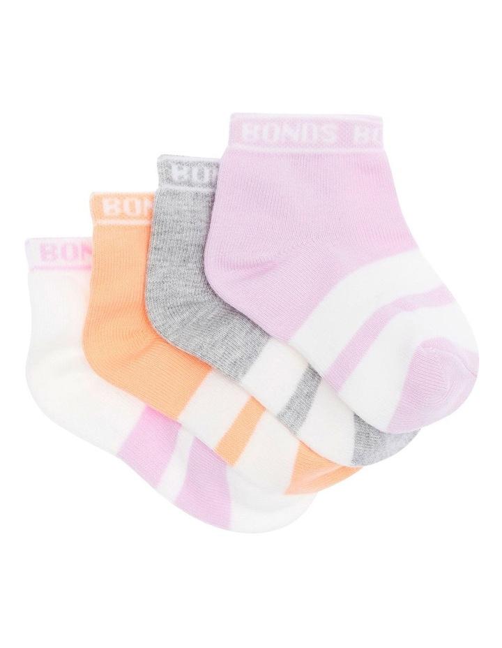 Baby Sportlet 4 Pack Socks image 2