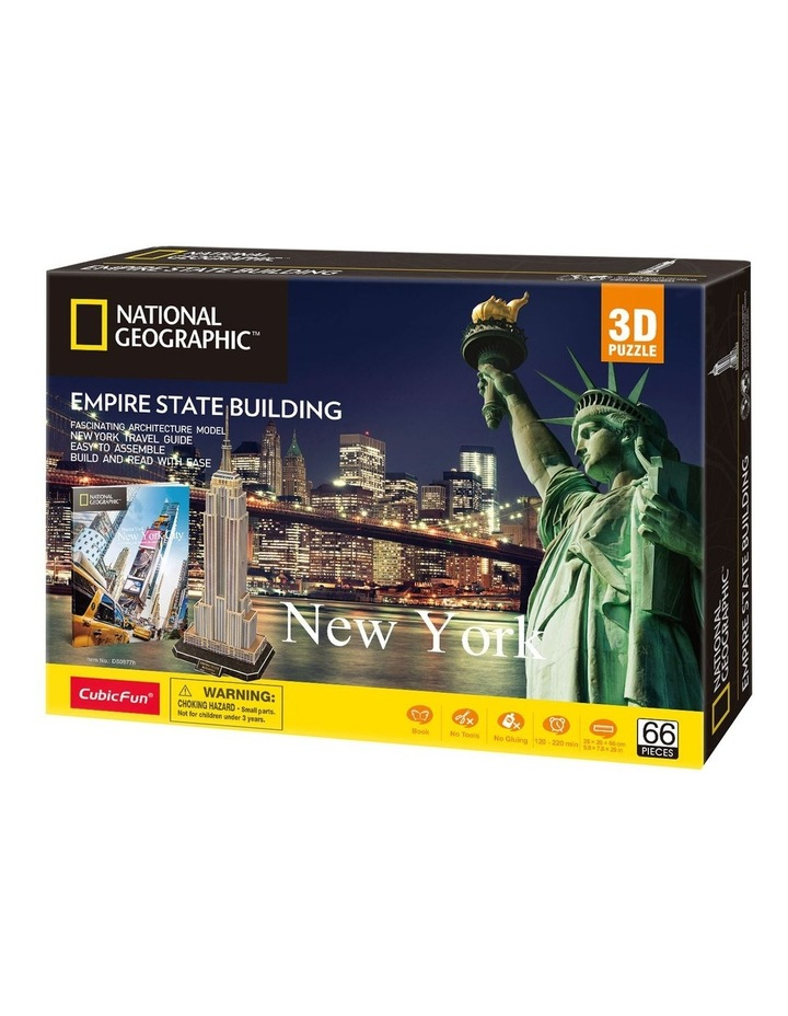 New York - Empire State Building 66pc 3D Puzzle image 1