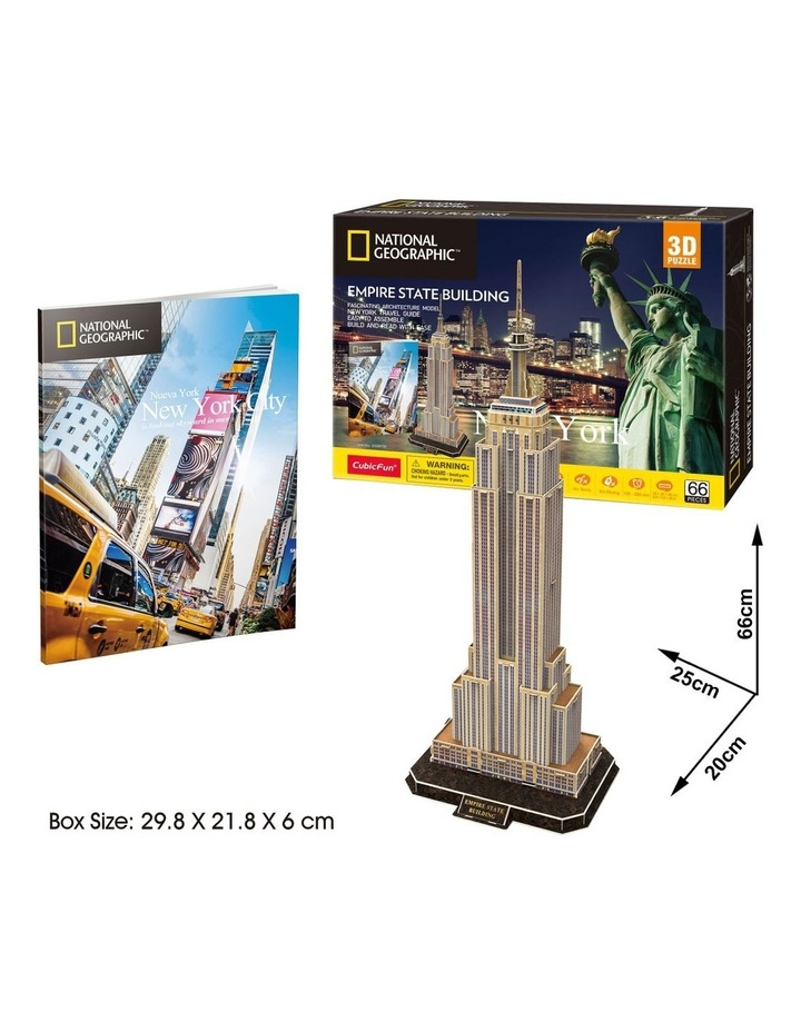 New York - Empire State Building 66pc 3D Puzzle image 2