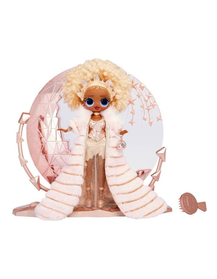 Holiday OMG 2021 Collector NYE Queen Fashion Doll with Gold Fashions and Accessories image 2