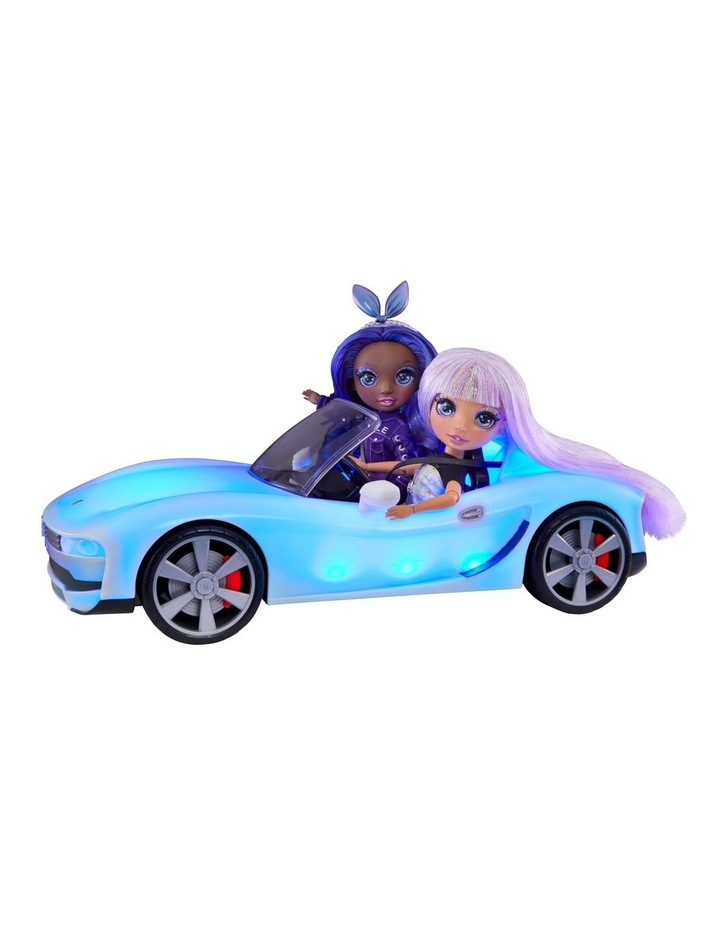 Rainbow High Colour Change Car-Convertible Vehicle With 8-In-1 Led Light-Up Lights, Gift & Collectable For Kids Ages 6 image 2