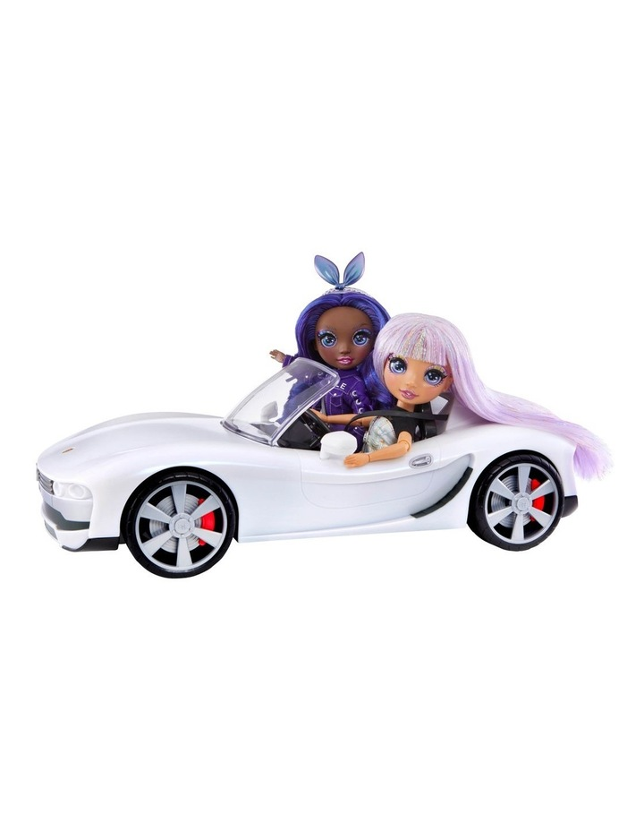 Rainbow High Colour Change Car-Convertible Vehicle With 8-In-1 Led Light-Up Lights, Gift & Collectable For Kids Ages 6 image 3