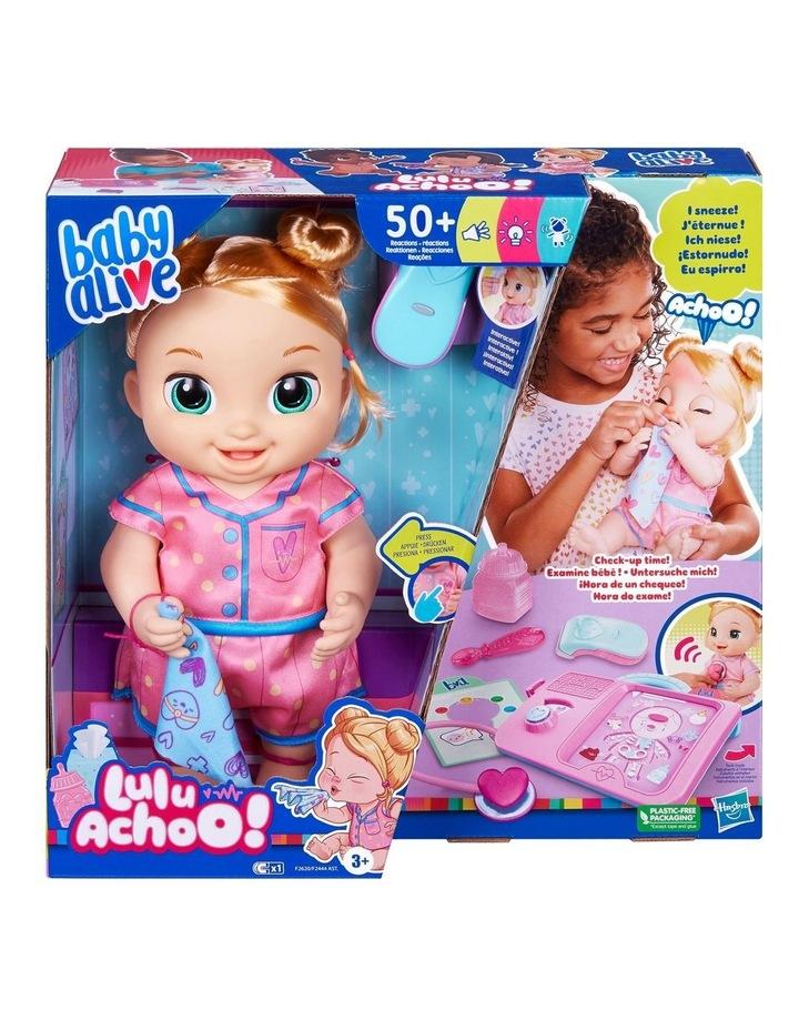 Baby Alive Lulu Achoo Doll - Blonde Hair image 1